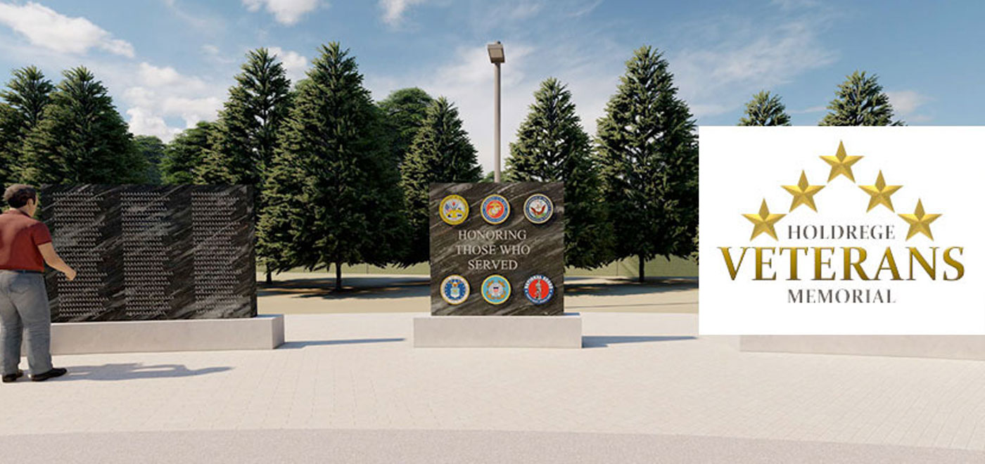 veterans memorial mock-up